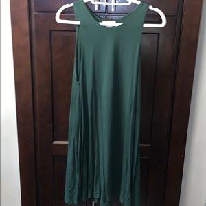 Hunter Green Shift Dress